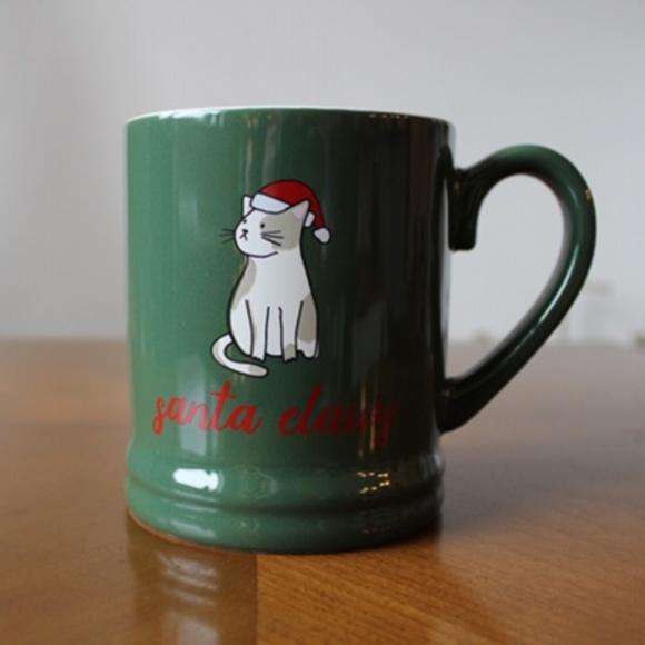 Santa Claus Cat Mug